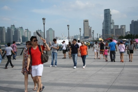 Summer in the City, the Bund in Shanghai