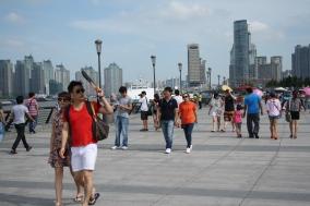 Summer in the City, the Bund in Shanghai