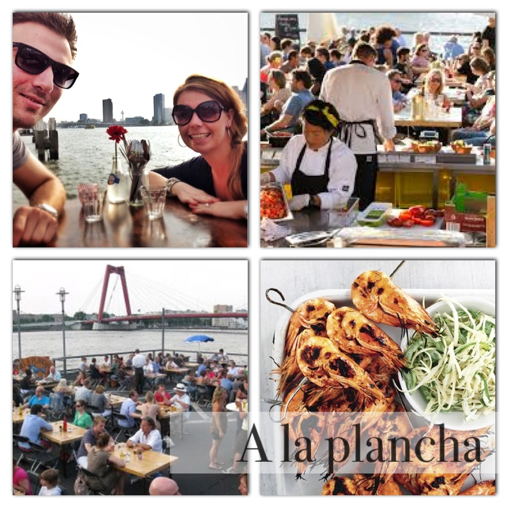 pop-up restaurant a la plancha