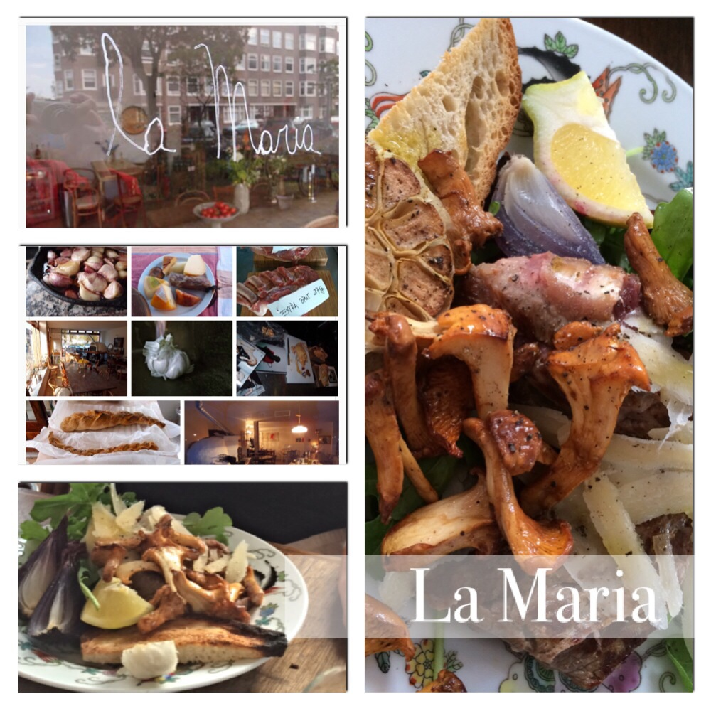 Italiaans genieten bij La Maria in Amsterdam