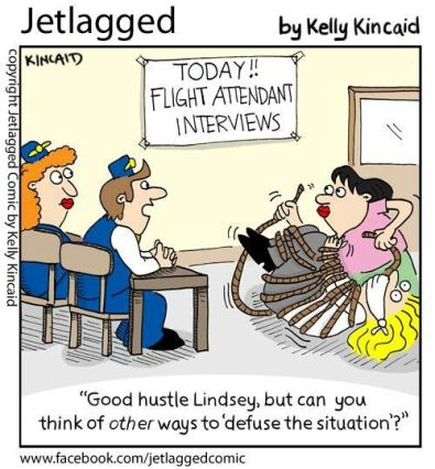 job interview flight attendant