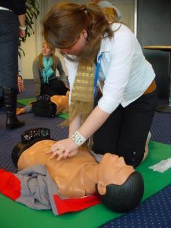 cursus AED en reanimeren